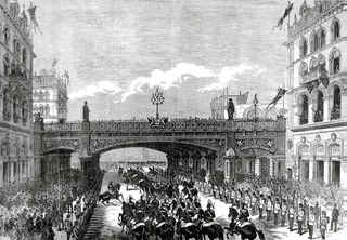 Royal_Procession_under_the_Holborn_Valley_Viaduct,_1869_ILN